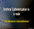Male urethral Catheterization Indications & contraindications